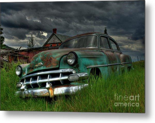 Chevy  Bel Air Metal Print