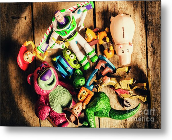 Childhood Collectibles Metal Print