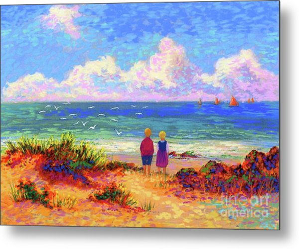 Children Of The Sea Metal Print