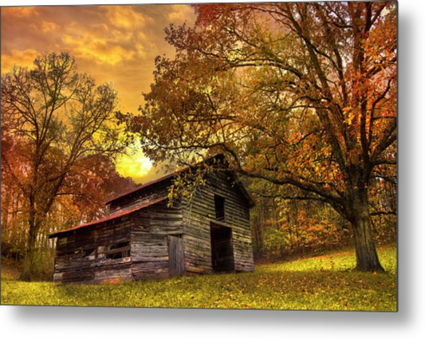 Chill Of An Early Fall Metal Print
