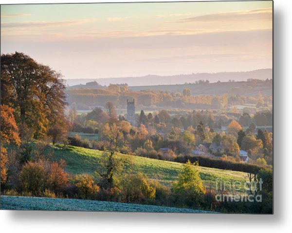 Chipping Campden Autumn Morning Cotswolds Metal Print by Tim Gainey