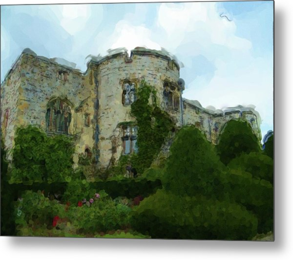 Chirk Castle Painting Metal Print