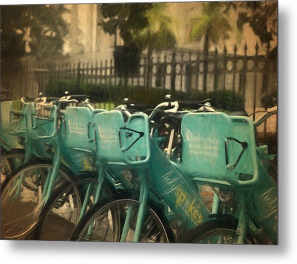 Choose Your Ride Metal Print