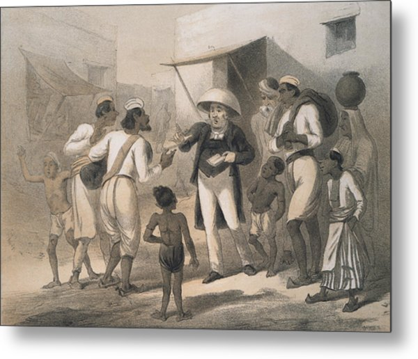 Christian Missionary Metal Print by Hulton Archive