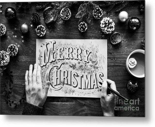 Christmas 1 Metal Print