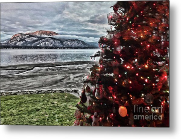 Christmas View Metal Print