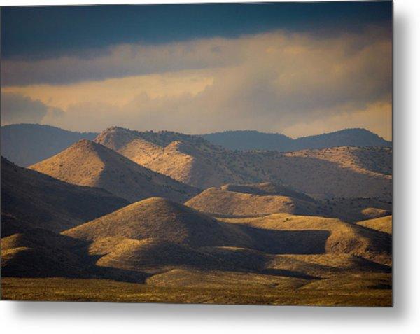 Chupadera Mountains II Metal Print