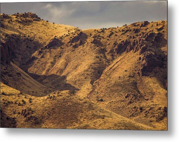 Chupadera Mountains Metal Print