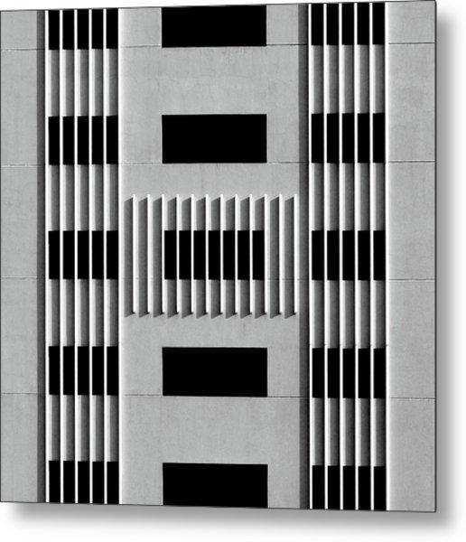 City Grids 64 Metal Print