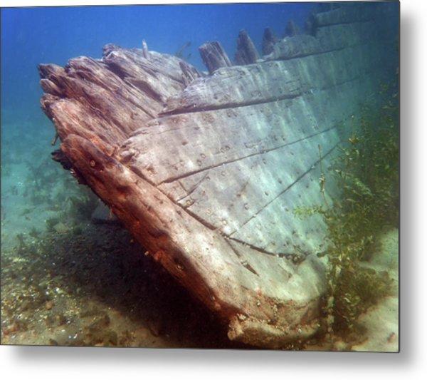 City Of Grand Rapids Shipwreck Ontario Canada 8081801c Metal Print