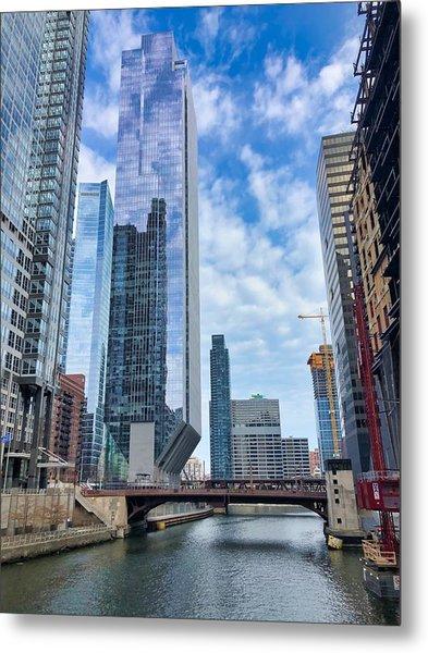 City Reflections Metal Print