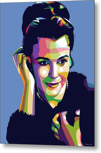 Claire Bloom Metal Print