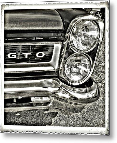 Classic Pontiac Metal Print