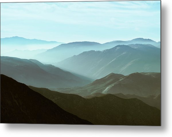 Clearing Your Head Metal Print