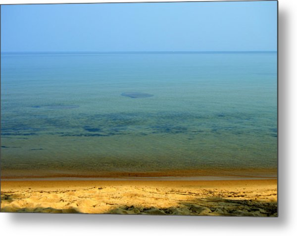 Clearness Of Lake Superior Metal Print