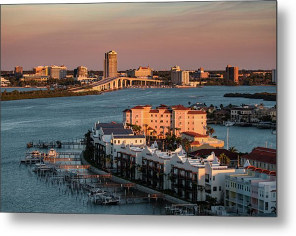 Clearwater Evening Metal Print