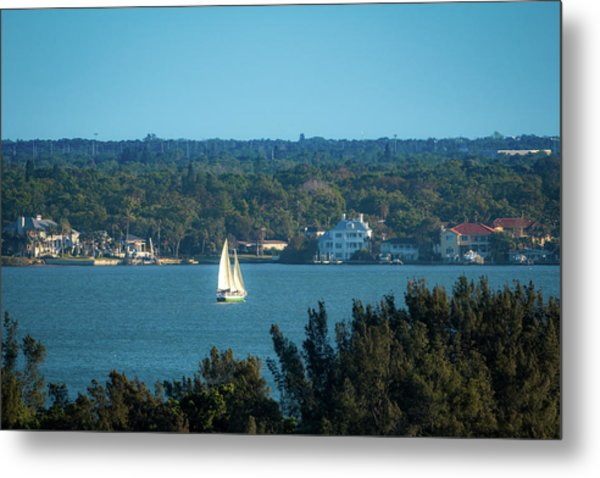 Clearwater Sails Metal Print
