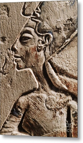 Metal Print featuring the photograph Cleopatra by Sue Harper