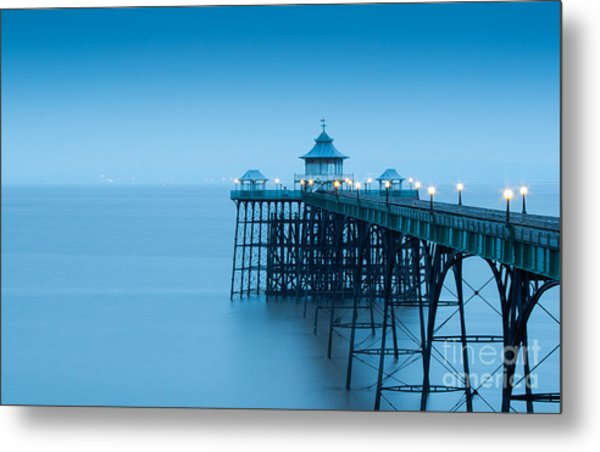 Cleve Don Pier, Early Morning Metal Print