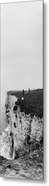 Cliff Climbers Metal Print by Alfred Hind Robinson