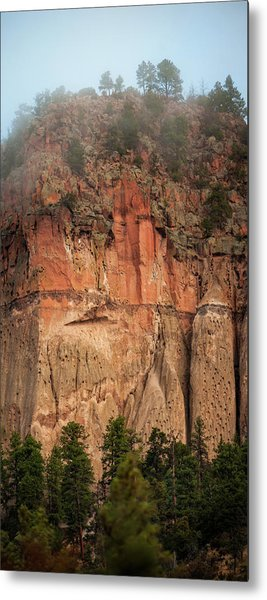 Cliff Face Metal Print