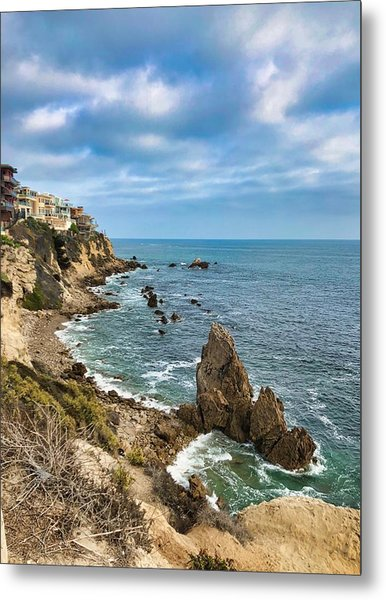 Cliffs Of Corona Del  Mar Metal Print