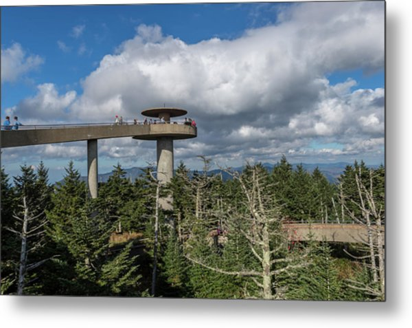Clingman's Dome Metal Print