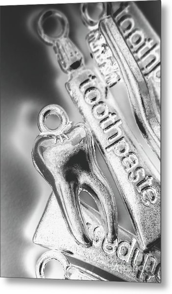 Clinical Cleanliness Metal Print