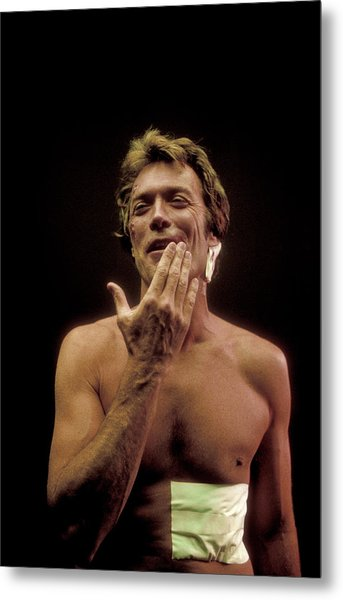 Clint Eastwood Metal Print by Bill Eppridge