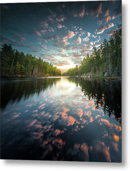 Metal Print featuring the photograph Cloud Atlas / Boundary Waters, Minnesota  by Nicholas Parker