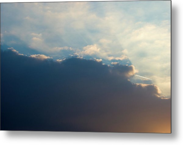 Metal Print featuring the photograph Cloud-scape 1 by Stewart Marsden