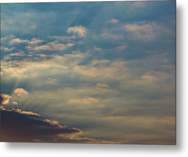 Metal Print featuring the photograph Cloud-scape 2 by Stewart Marsden
