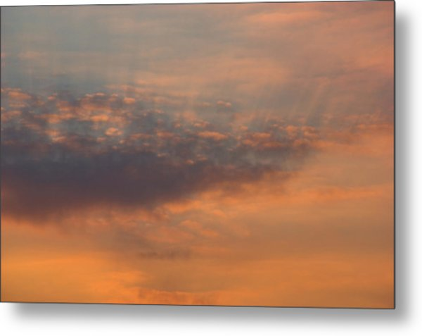 Metal Print featuring the photograph Cloud-scape 4 by Stewart Marsden