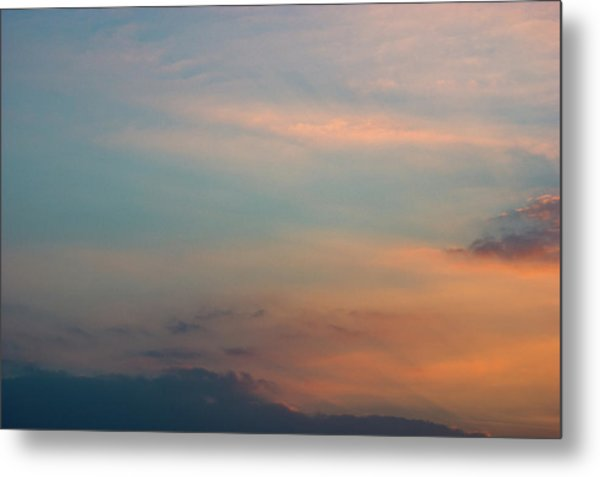 Metal Print featuring the photograph Cloud-scape 7 by Stewart Marsden