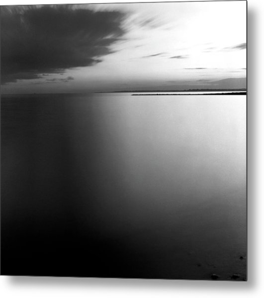 Clouds And Water Metal Print by Adam Garelick