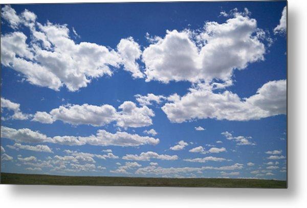 Clouds, Part 1 Metal Print