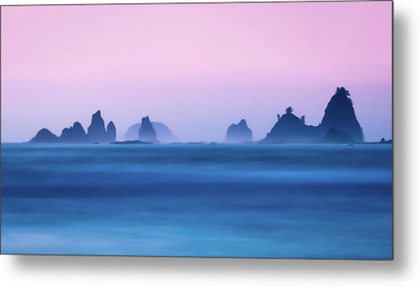 Coastal Light Metal Print