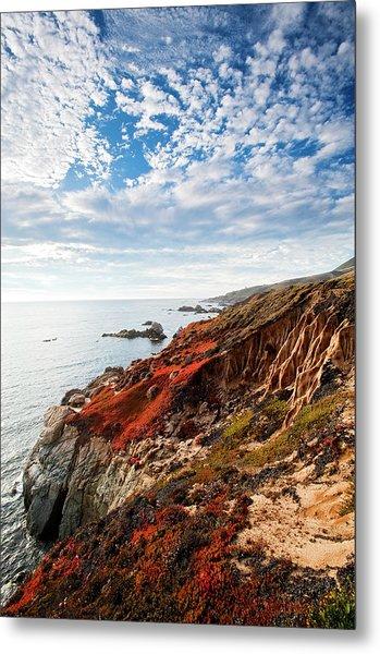 Coastline At Soberanes Metal Print by Doug Steakley