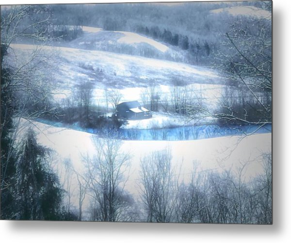 Cold Valley Metal Print