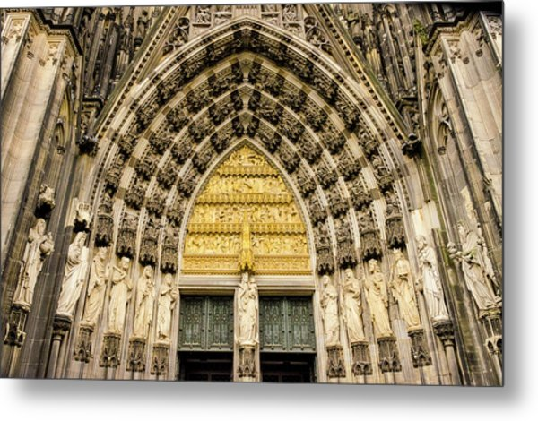 Cologne Cathedral Metal Print