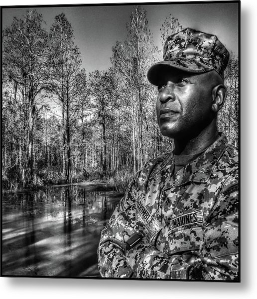 colonel Trimble 2 Metal Print