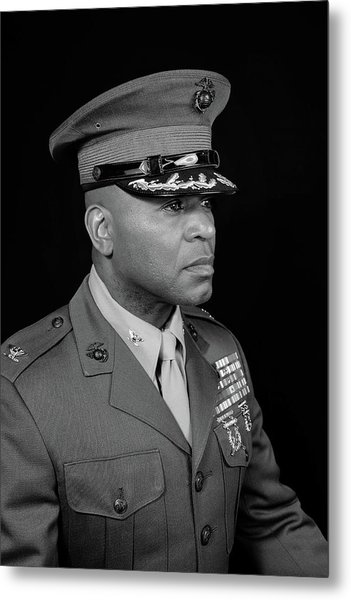 Colonel Trimble Metal Print