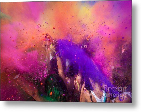 Color Festival Metal Print