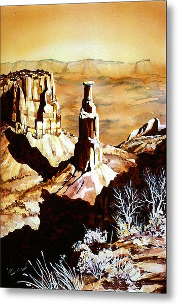 Colorado Monument Metal Print