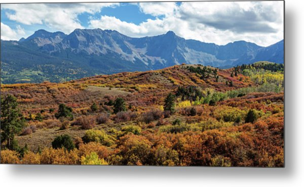Colorado Painted Landscape Panorama Pt1 Metal Print by James BO Insogna