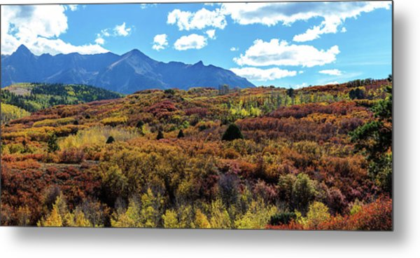 Colorado Painted Landscape Panorama Pt2 Metal Print by James BO Insogna