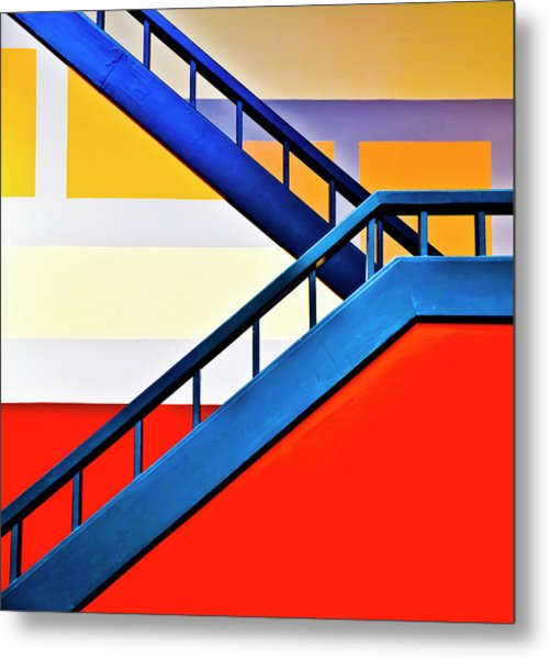 Colorful Climb Metal Print by By Wesbs