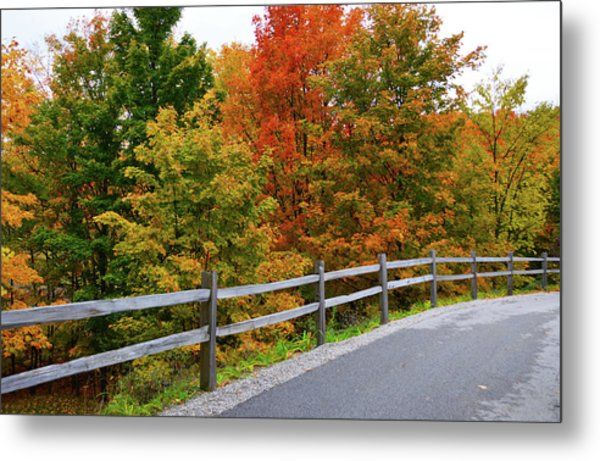 Colorful Lane Metal Print