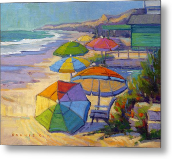 Colors Of Crystal Cove Metal Print