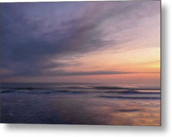 Metal Print featuring the photograph Colors Of Dawn by John M Bailey
